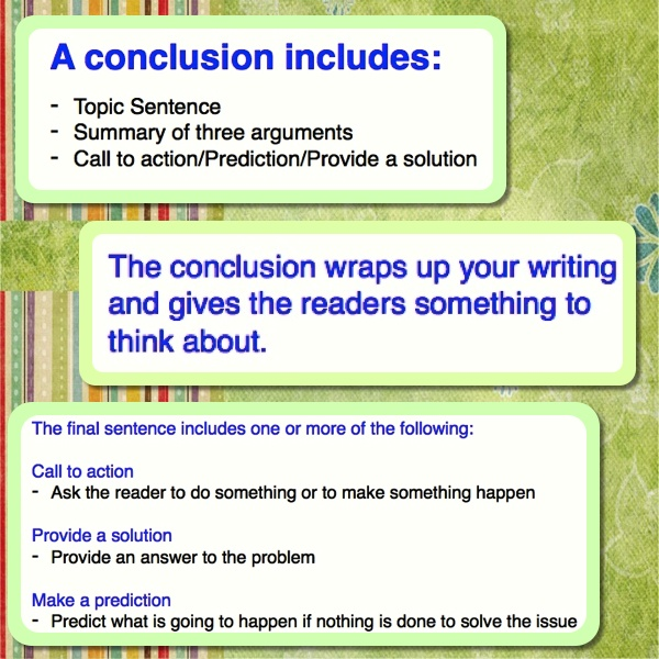 Good Conclusions Persuasive Essays
