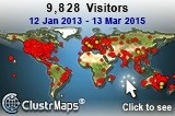 Our visitors up to  March, 2015